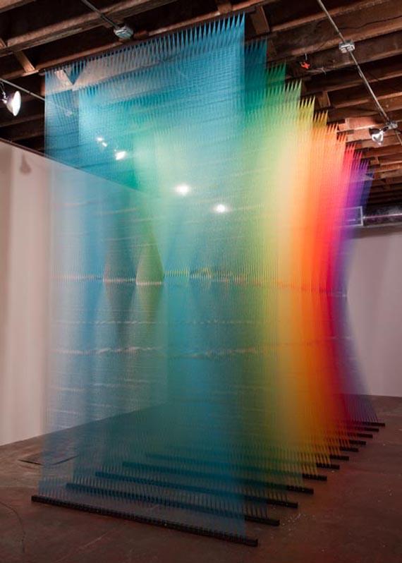 Gabriel Dawe Installation Art