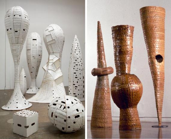 Ann Weber Cardboard Art Oakland