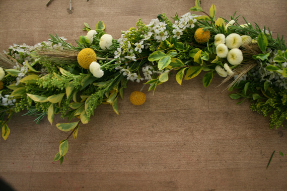 Local Social DIY flower garland