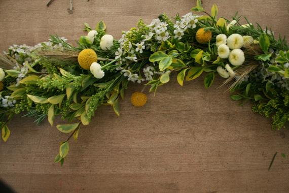Local Social DIY flower garland