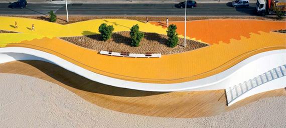 """Spain promenade """"Playa Poniente"""""""