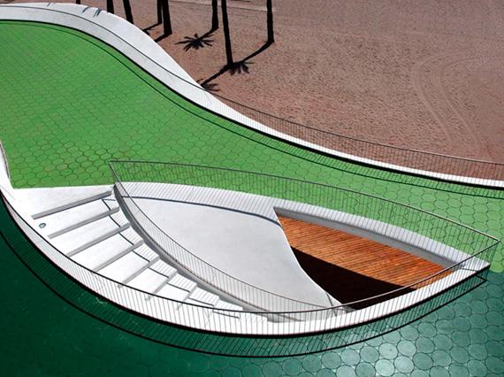 "Spain ""Playa Poniente"" public spaces"