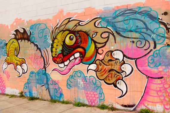 """""""Few and Far"""" Oakland Mandala art"""