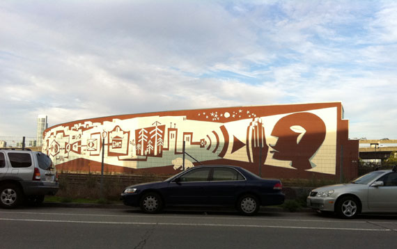 """Brian Barneclo"" ""Systems Mural Project"" CalTran mural SF ""San Francisco"""