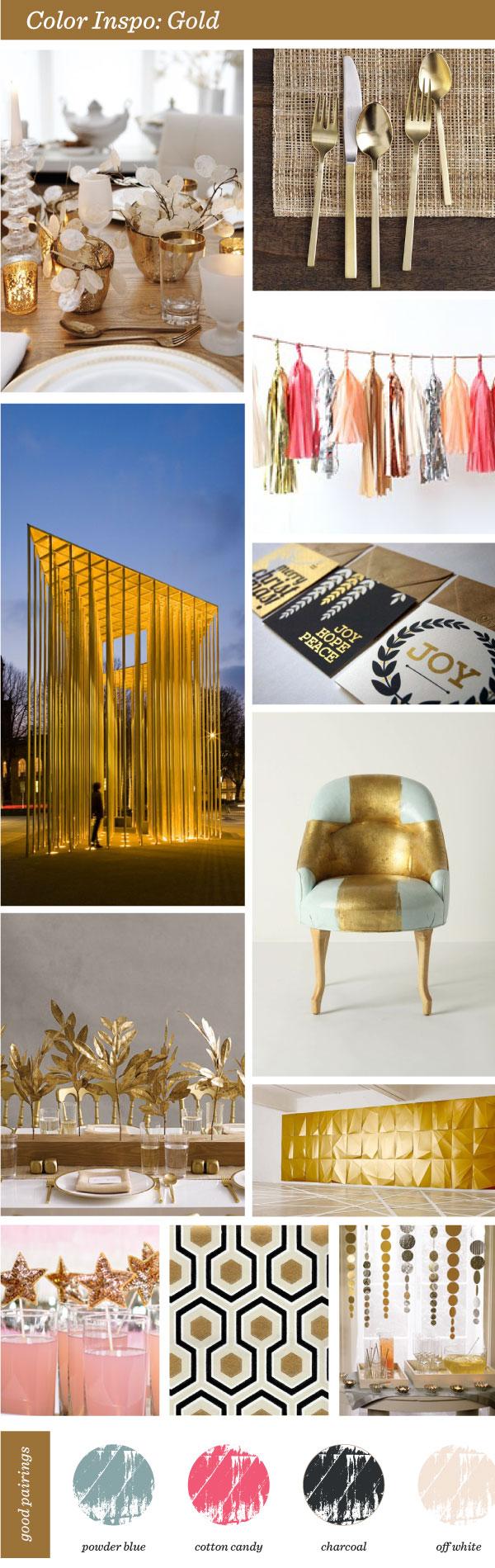 "Gold Portlandia Anthropologie ""Gold Foil"" paint DIY"