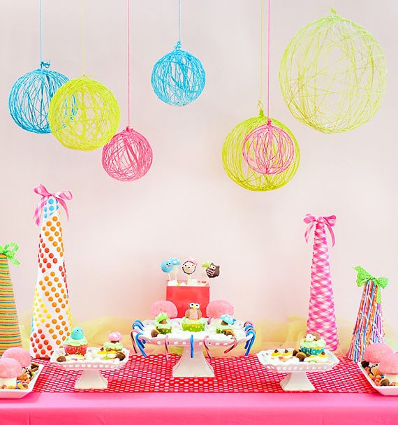 """""""Hostess with the mostess"""" HWTM diy yarn tutorial chandelier"""