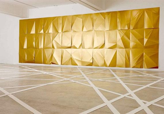 """""""Martin Pfeifle"""" Gold Cardboard"""