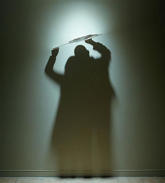 """""""Kumi Yamashita"""" """"light paintings"""" shadow"""