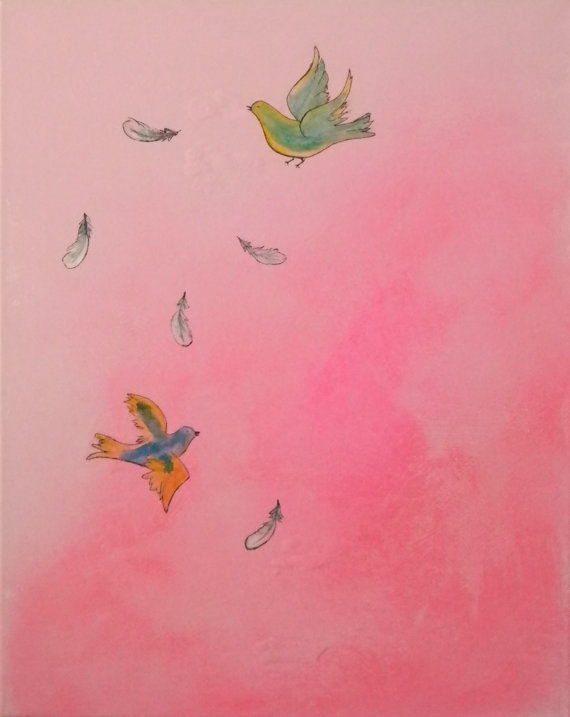 """""""Michelle Jacobson"""" artist etsy painting"""