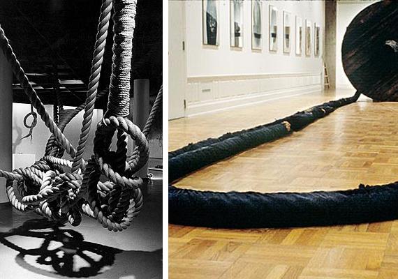 Abakanowicz Rope Installation