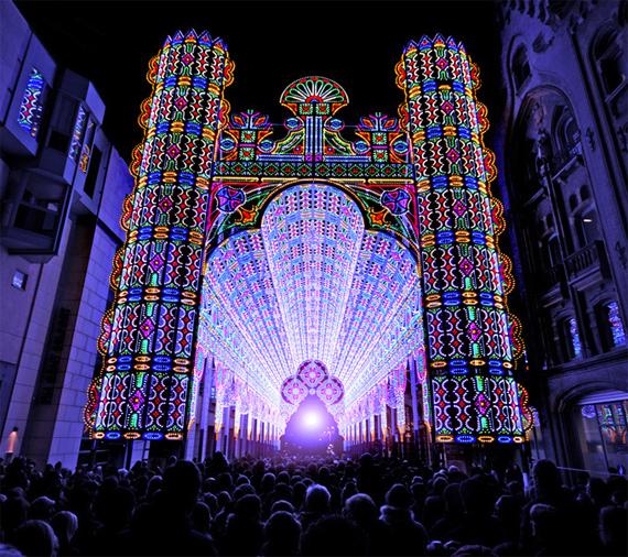 """Ghent Light Festival"" Ghent Belgium LED"