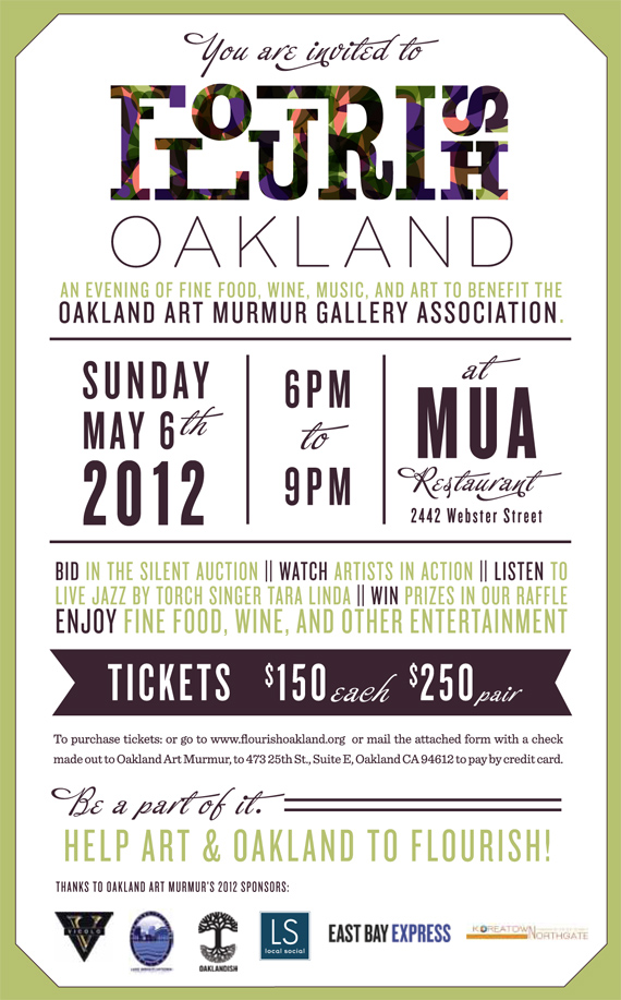 oakland art murmur, local social
