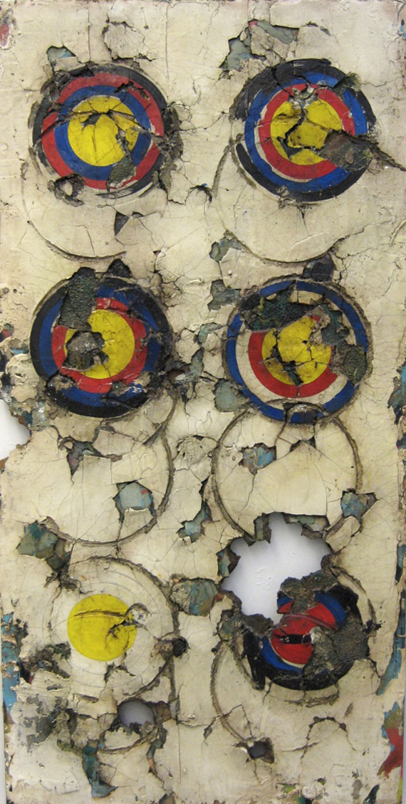 """""""Gared Luquet"""" painting oakland artist textural"""