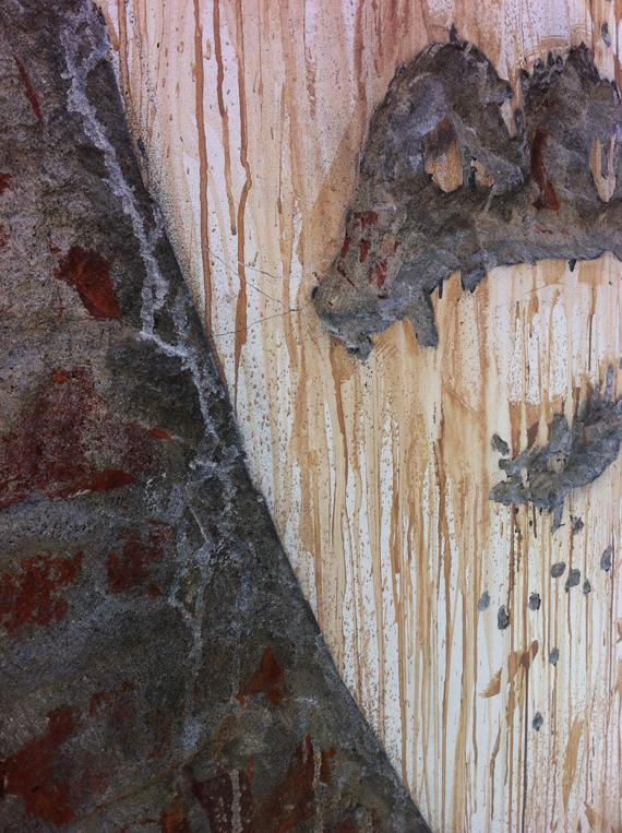 "VHILS ""Abbot Kinney"" venice art wall"