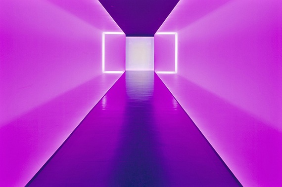 """james turrell"" color space art"