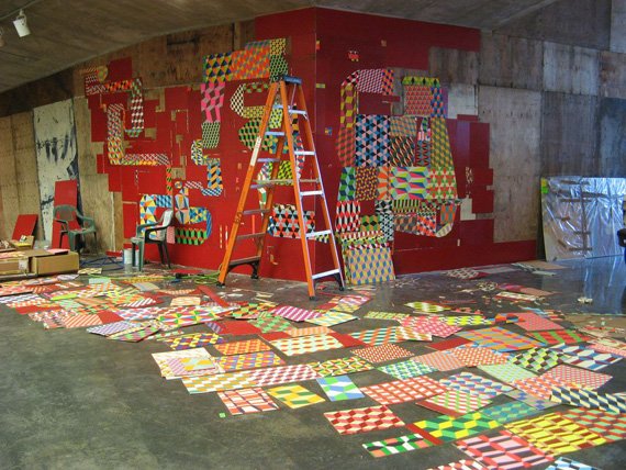 """Barry McGee"" ""Bay-Area"" street art"