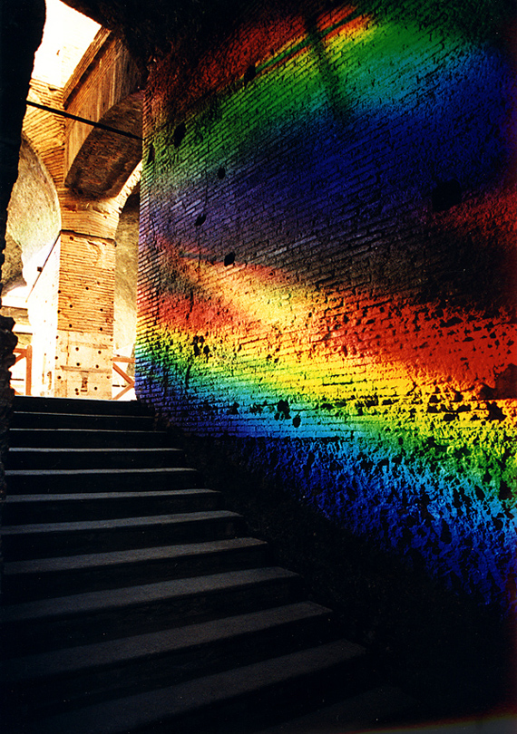 "Rome, light, installation, spectrum, ""Peter Erskine"""