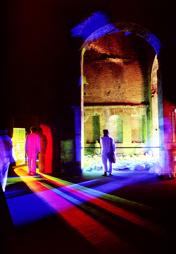 "light, installation, spectrum, ""Peter Erskine"""