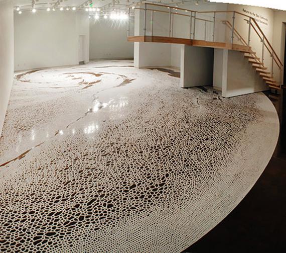 """""""Motoi-Yamamoto"""" salt, installation"""