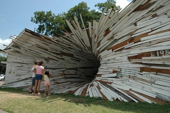 """Dean Ruck"", installation, home, house"