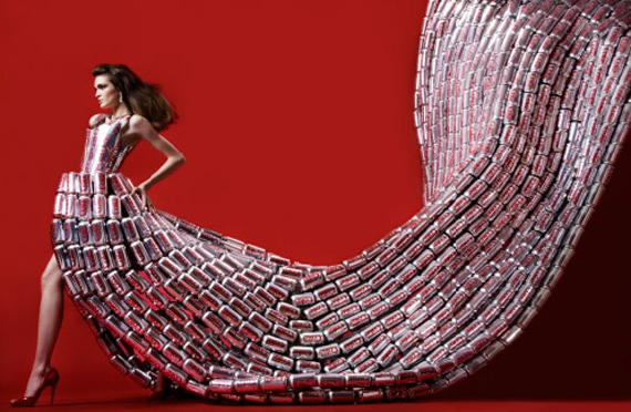 Virgine, coke bottles, fashion, art